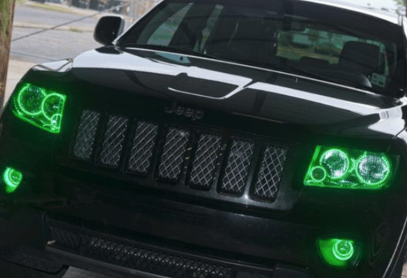 LED Jeep Halo Lights by Oracle