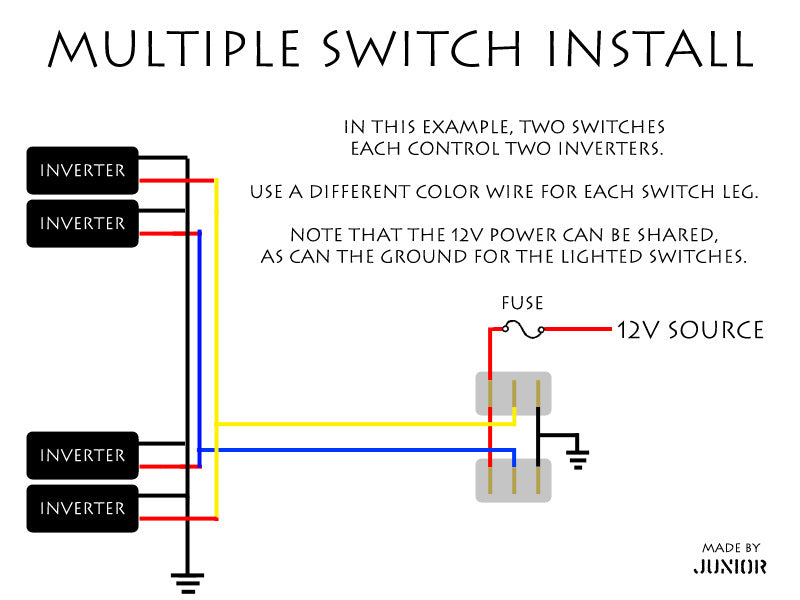 multipleswitchwiring wiring diagram of a hampton bay air conditioner model hblg1200r  at soozxer.org