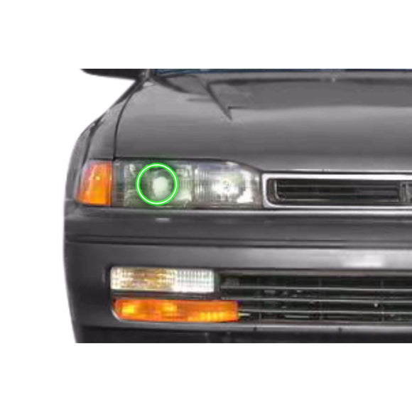 1990-1993 Honda Accord Profile Prism (formerly ColorMorph) Halo Headlight Kits by LED Concepts™