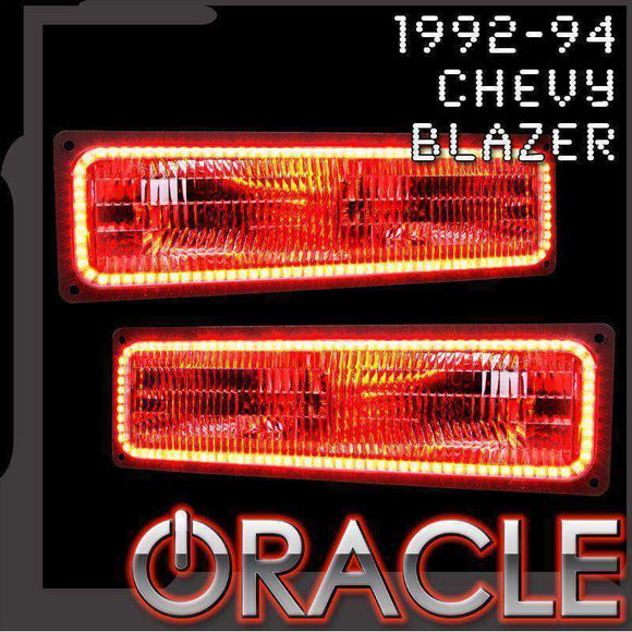 1992-1994 Chevrolet Blazer ColorSHIFT LED Headlight Halo Kit by Oracle™