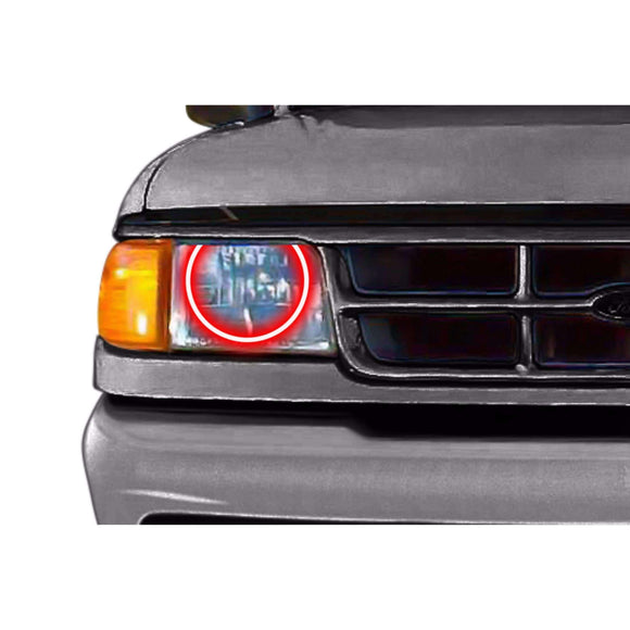 1993-1997 Ford Ranger Profile Prism (formerly ColorMorph) Halo Headlight Kits by LED Concepts™
