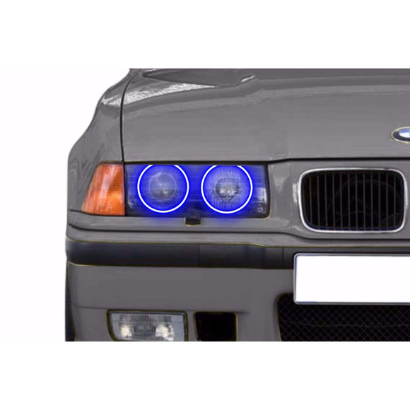 1993-1999 BMW 3 Series Profile Prism (formerly ColorMorph) Halo Headlight Kits by LED Concepts™