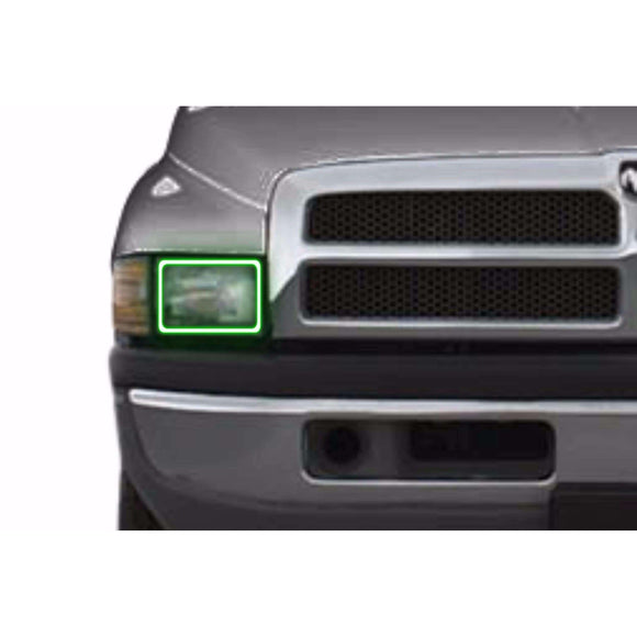 1994-2002 Dodge Ram Profile Prism (formerly ColorMorph) Halo Headlight Kits by LED Concepts™