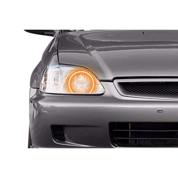 1996-1998 Honda Civic Profile Prism (formerly ColorMorph) Halo Headlight Kits by LED Concepts™