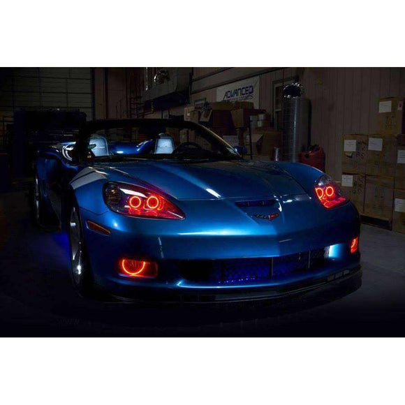 1996-2002 Dodge Viper GTS LED Headlight Halo Kit by Oracle™