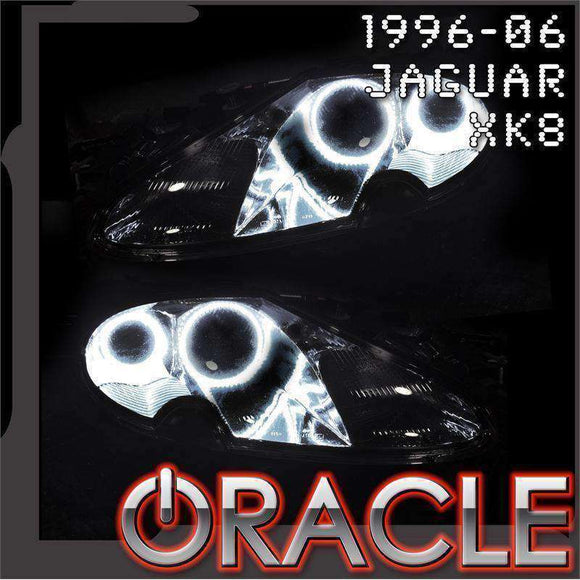 1996-2006 Jaguar XK8/XKR ColorSHIFT LED Headlight Halo Kit by Oracle™