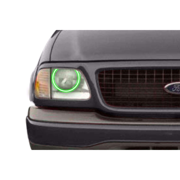 1997-2002 Ford Expedition Profile Prism (formerly ColorMorph) Halo Headlight Kits by LED Concepts™