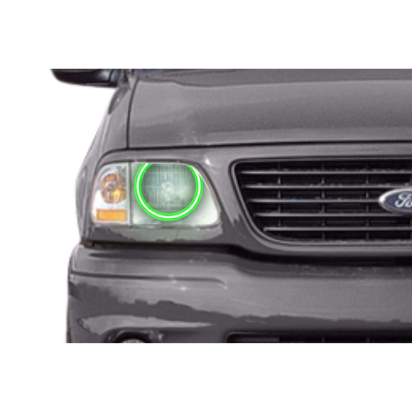 1997-2003 Ford F-150 Profile Prism (formerly ColorMorph) Halo Headlight Kits by LED Concepts™