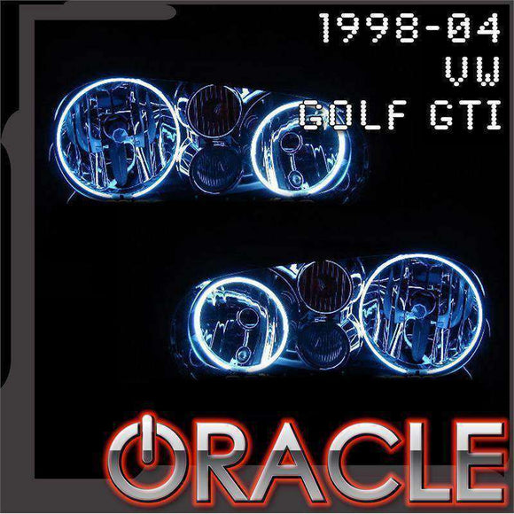 1998-2004 Volkswagen Golf GTI ColorSHIFT LED Headlight Halo Kit by Oracle™