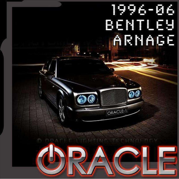 1999-2006 Bentley Arnage LED Headlight Halo Kit by Oracle™