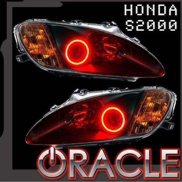 1999-2009 Honda S2000 ColorSHIFT LED Headlight Halo Kit by Oracle™