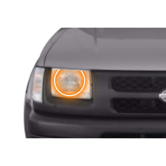 2000-2001 Nissan Xterra Profile Prism (formerly ColorMorph) Halo Headlight Kits by LED Concepts™