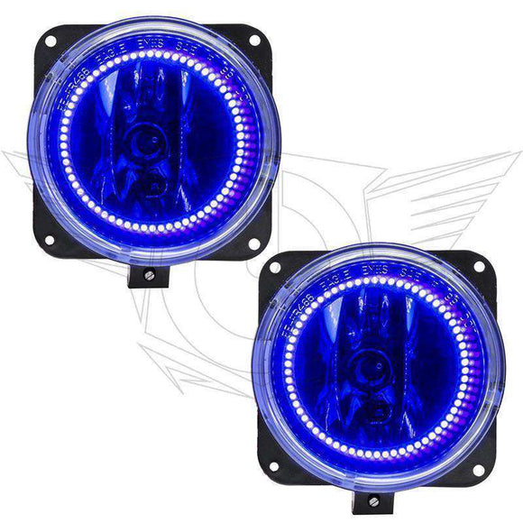 2002 Lincoln LS ColorSHIFT LED Pre-Assembled Halo Fog Lights by Oracle™