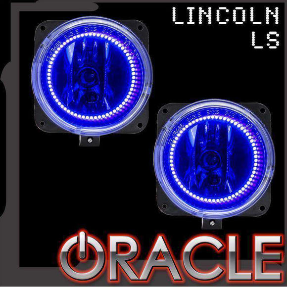 2000-2002 Lincoln LS LED Fog Light Halo Kit by Oracle™