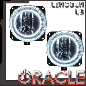 2002 Lincoln LS LED Pre-Assembled Halo Fog Lights by Oracle™