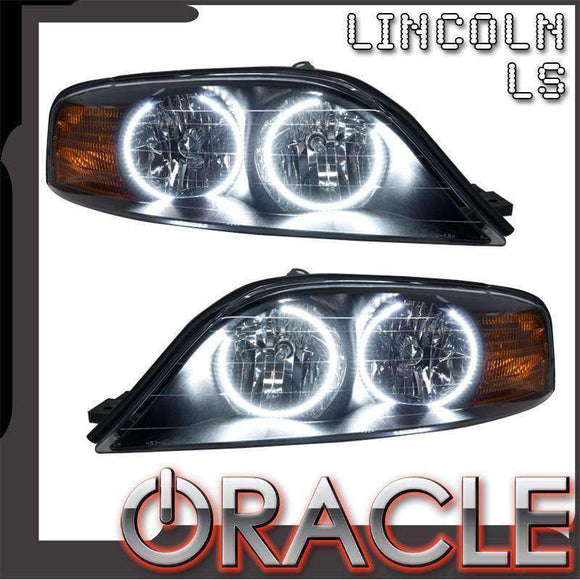 2000-2002 Lincoln LS LED Pre-Assembled Oracle™ Halo Headlights