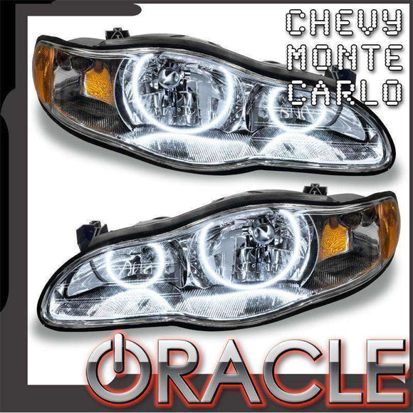 2000-2005 Chevrolet Monte Carlo ColorSHIFT LED Pre-Assembled Oracle™ Halo Headlights