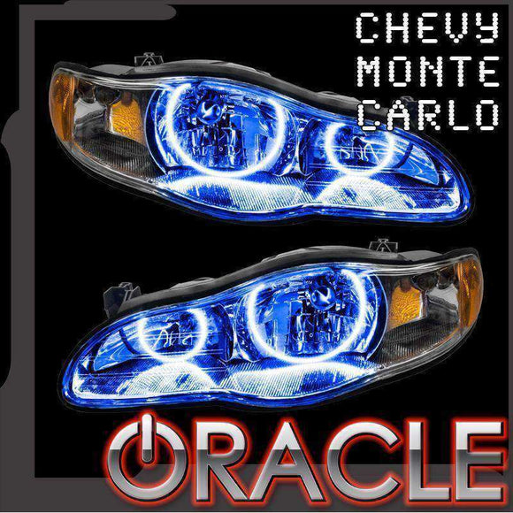 2000-2005 Chevrolet Monte Carlo LED Headlight Halo Kit by Oracle™