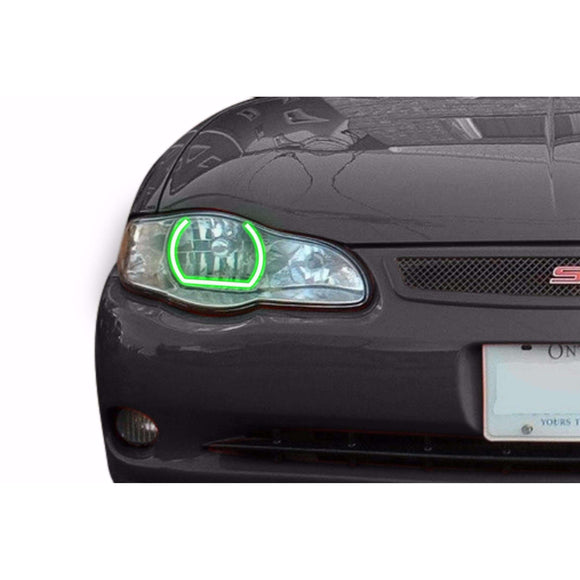 2000-2005 Chevrolet Monte Carlo Profile Prism (formerly ColorMorph) Halo Headlight Kits by LED Concepts™