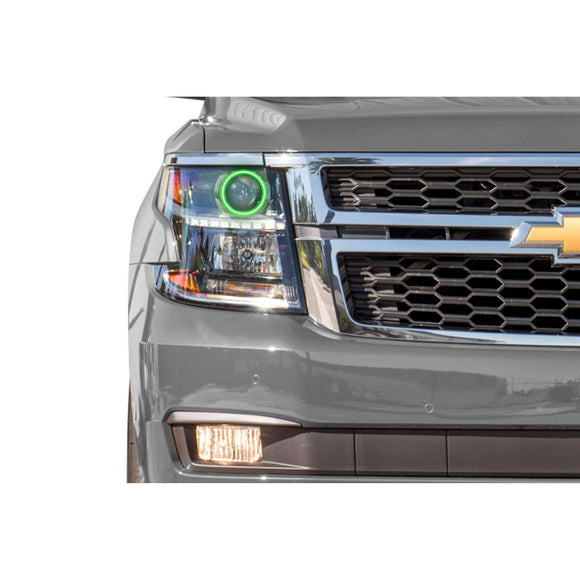 2000-2006 Chevrolet Tahoe Profile Prism (formerly ColorMorph) Halo Headlight Kits by LED Concepts™