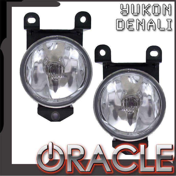 2000-2006 GMC Yukon/Denali Plasma Pre-Assembled Halo Fog Lights by Oracle™