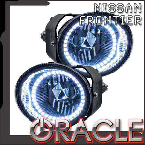 2001-2002 Nissan Frontier LED Pre-Assembled Halo Fog Lights by Oracle™