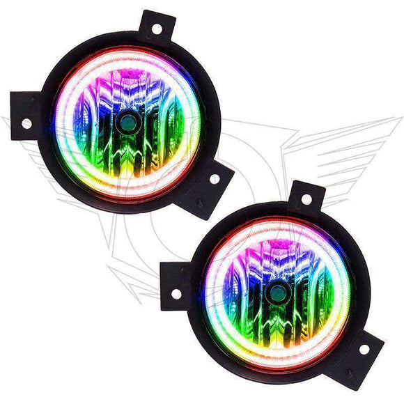 2001-2003 Ford Ranger ColorSHIFT LED Pre-Assembled Halo Fog Lights by Oracle™