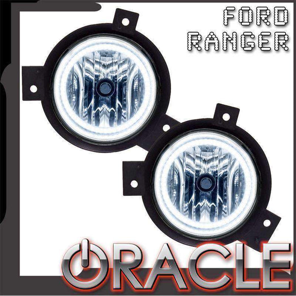 2001-2003 Ford Ranger Plasma Pre-Assembled Halo Fog Lights by Oracle™