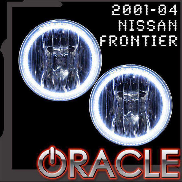 2001-2004 Nissan Frontier LED Fog Light Halo Kit by Oracle™