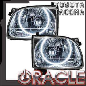 2001-2004 Toyota Tacoma LED Pre-Assembled Oracle™ Halo Headlights