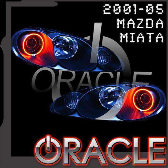 2001-2005 Mazda Miata ColorSHIFT LED Headlight Halo Kit by Oracle™