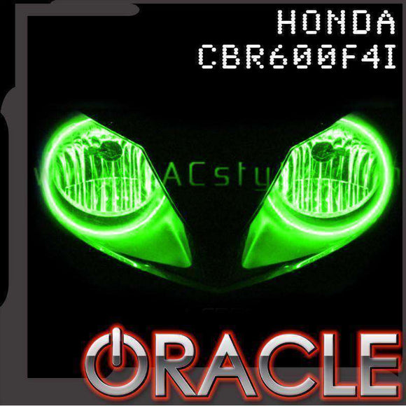 2001-2006 Honda CBR600F4i ColorSHIFT LED Headlight Halo Kit by Oracle™