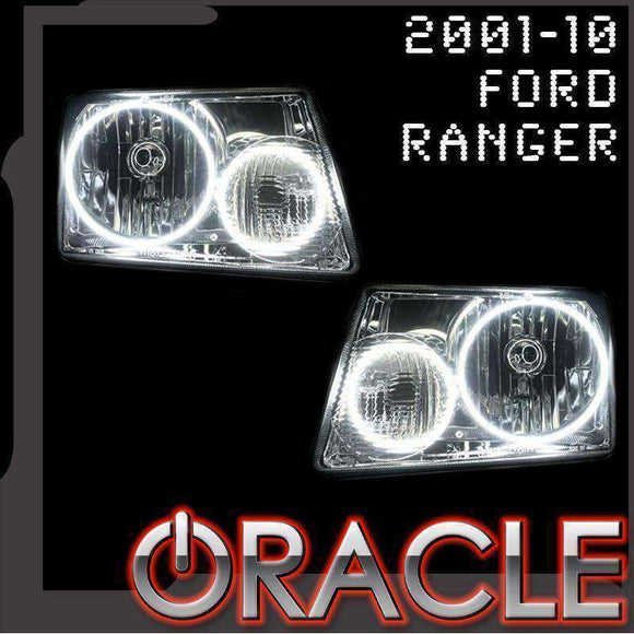2001-2010 Ford Ranger ColorSHIFT LED Headlight Halo Kit by Oracle™