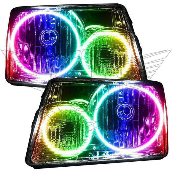 2001-2011 Ford Ranger ColorSHIFT LED Pre-Assembled Oracle™ Halo Headlights