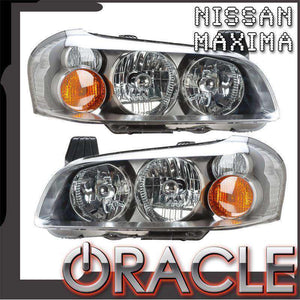 2002-2003 Nissan Maxima HID LED Pre-Assembled Oracle™ Halo Headlights