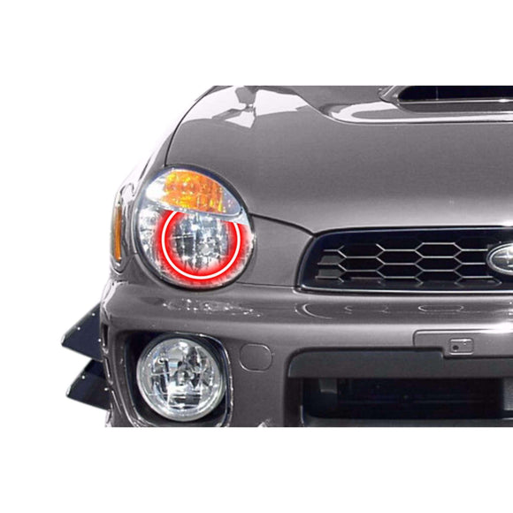 2002-2003 Subaru WRX Profile Prism (formerly ColorMorph) Halo Headlight Kits by LED Concepts™