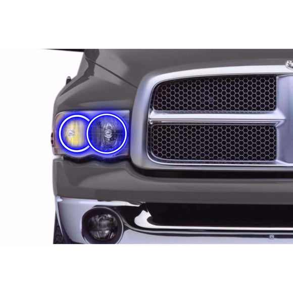 2002-2005 Dodge Ram Profile Prism (formerly ColorMorph) Halo Headlight Kits by LED Concepts™