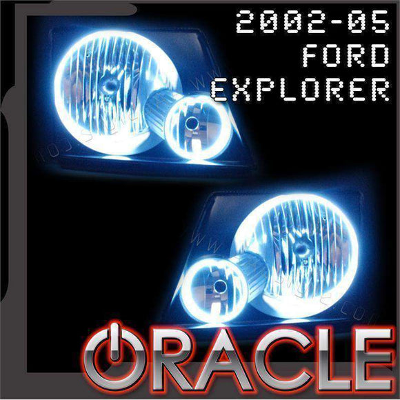 2002-2005 Ford Explorer ColorSHIFT LED Headlight Halo Kit by Oracle™