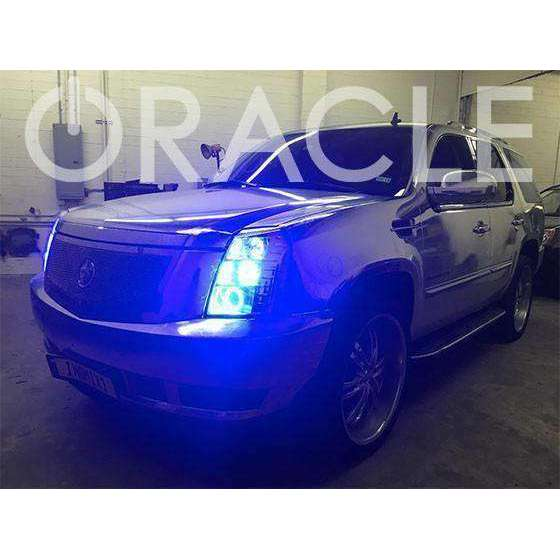 2002-2006 Cadillac Escalade ColorSHIFT LED Headlight Halo Kit by Oracle™