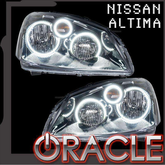 2002-2006 Nissan Altima LED Headlight Halo Kit by Oracle™