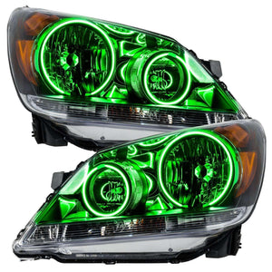2003-2004 Toyota Corolla S-Type LED Pre-Assembled Oracle™ Halo Headlights