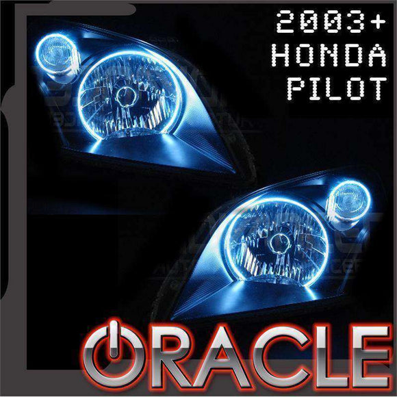 2003-2005 Honda Pilot LED Headlight Halo Kit by Oracle™