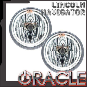 2003-2004 Lincoln Navigator Plasma Pre-Assembled Halo Fog Lights by Oracle™