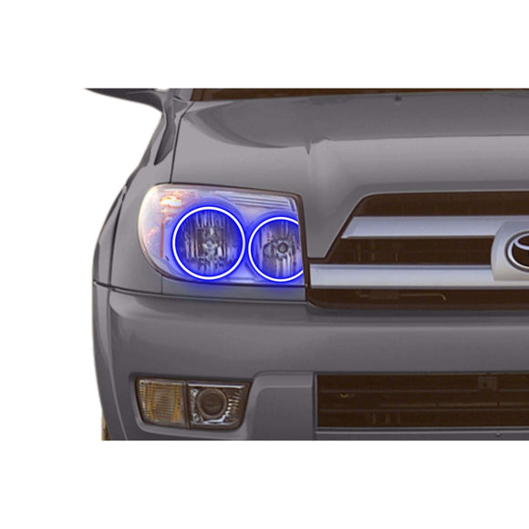 2003-2005 Toyota 4Runner Profile Prism (formerly ColorMorph) Halo Headlight Kits by LED Concepts™