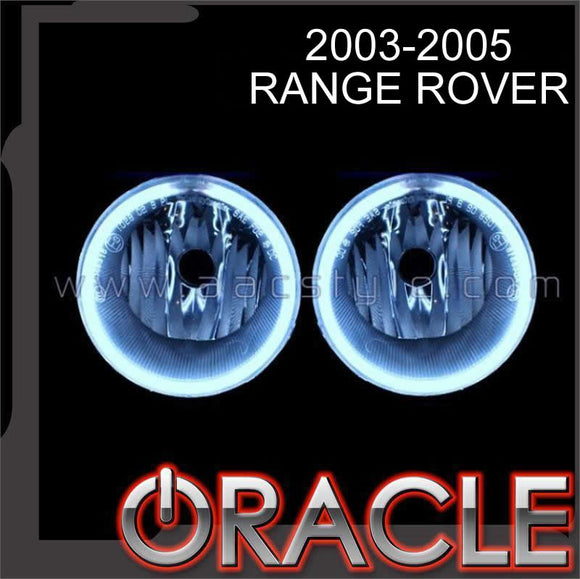 2003-2005 Range Rover ColorSHIFT LED Fog Light Halo Kit by Oracle™