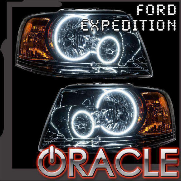 2003-2006 Ford Expedition ColorSHIFT LED Headlight Halo Kit by Oracle™