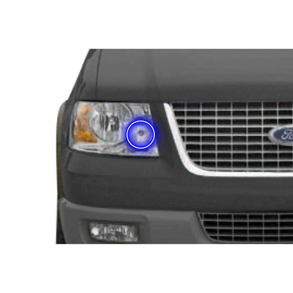 2003-2006 Ford Expedition Profile Prism (formerly ColorMorph) Halo Headlight Kits by LED Concepts™