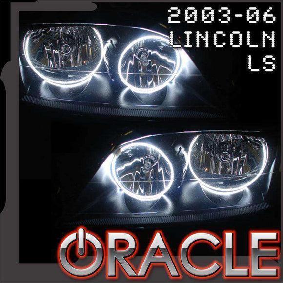 2003-2006 Lincoln LS ColorSHIFT LED Headlight Halo Kit by Oracle™