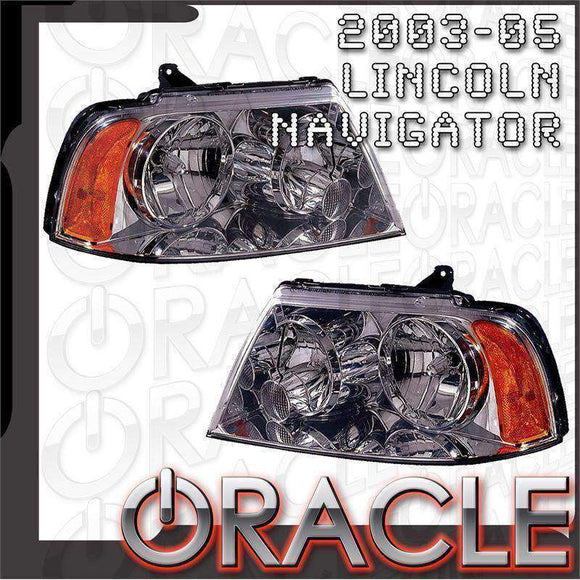 2003-2006 Lincoln Navigator LED Pre-Assembled Oracle™ Halo Headlights