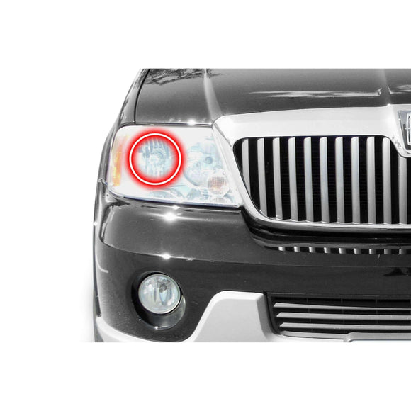 2003-2006 Lincoln Navigator Profile Prism (formerly ColorMorph) Halo Headlight Kits by LED Concepts™